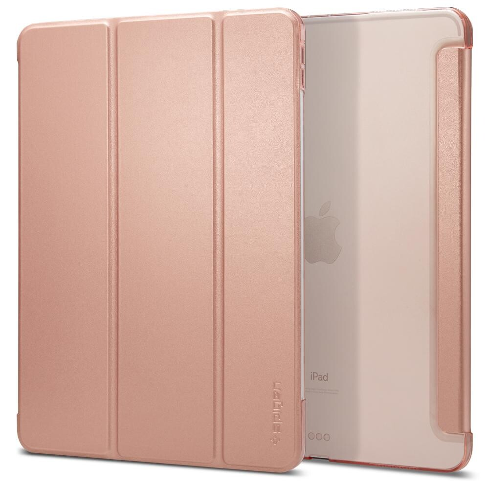 """Магнитный чехол-книжка Spigen Stand Folio (Version 2) Rose Gold для iPad Pro 11"""""""