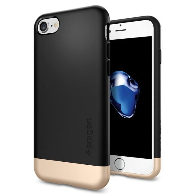 Чехол Spigen Style Armor Black для iPhone 7