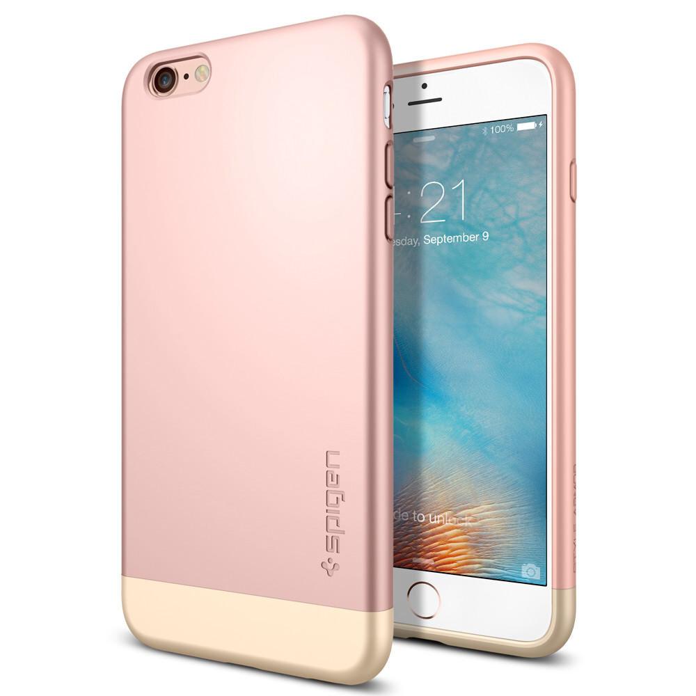 Чехол Spigen Style Armor Rose Gold для iPhone 6 Plus/6s Plus