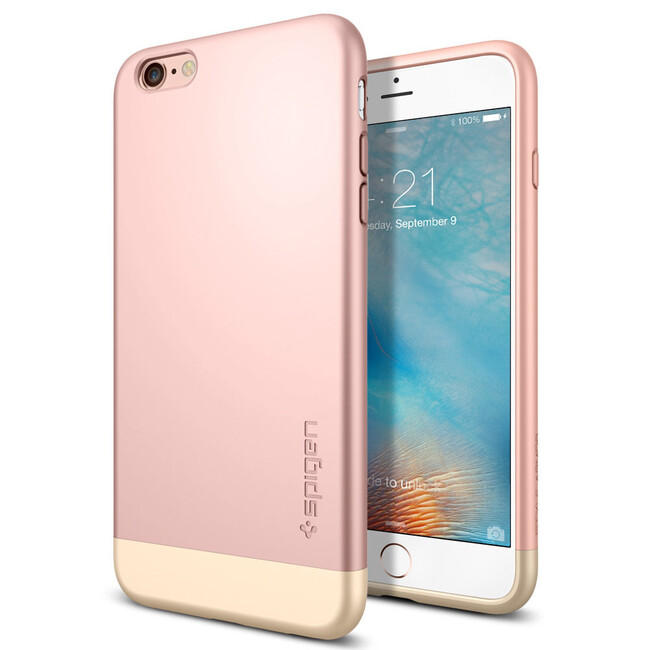 Чехол Spigen Style Armor Rose Gold для iPhone 6/6s Plus