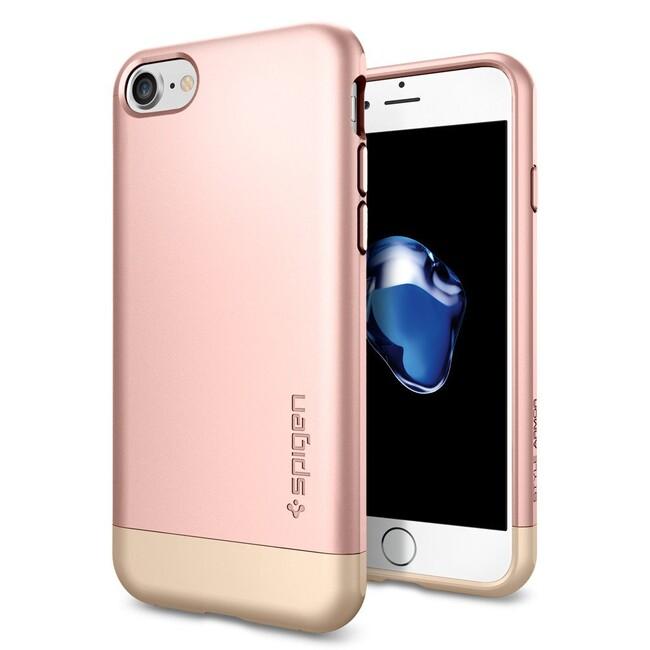 Чехол Spigen Style Armor Rose Gold для iPhone 7