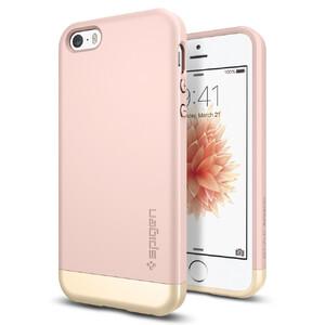 Купить Чехол Spigen Style Armor Rose Gold для iPhone SE/5S/5