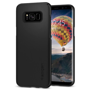 Купить Чехол Spigen Thin Fit Black для Samsung Galaxy S8 Plus