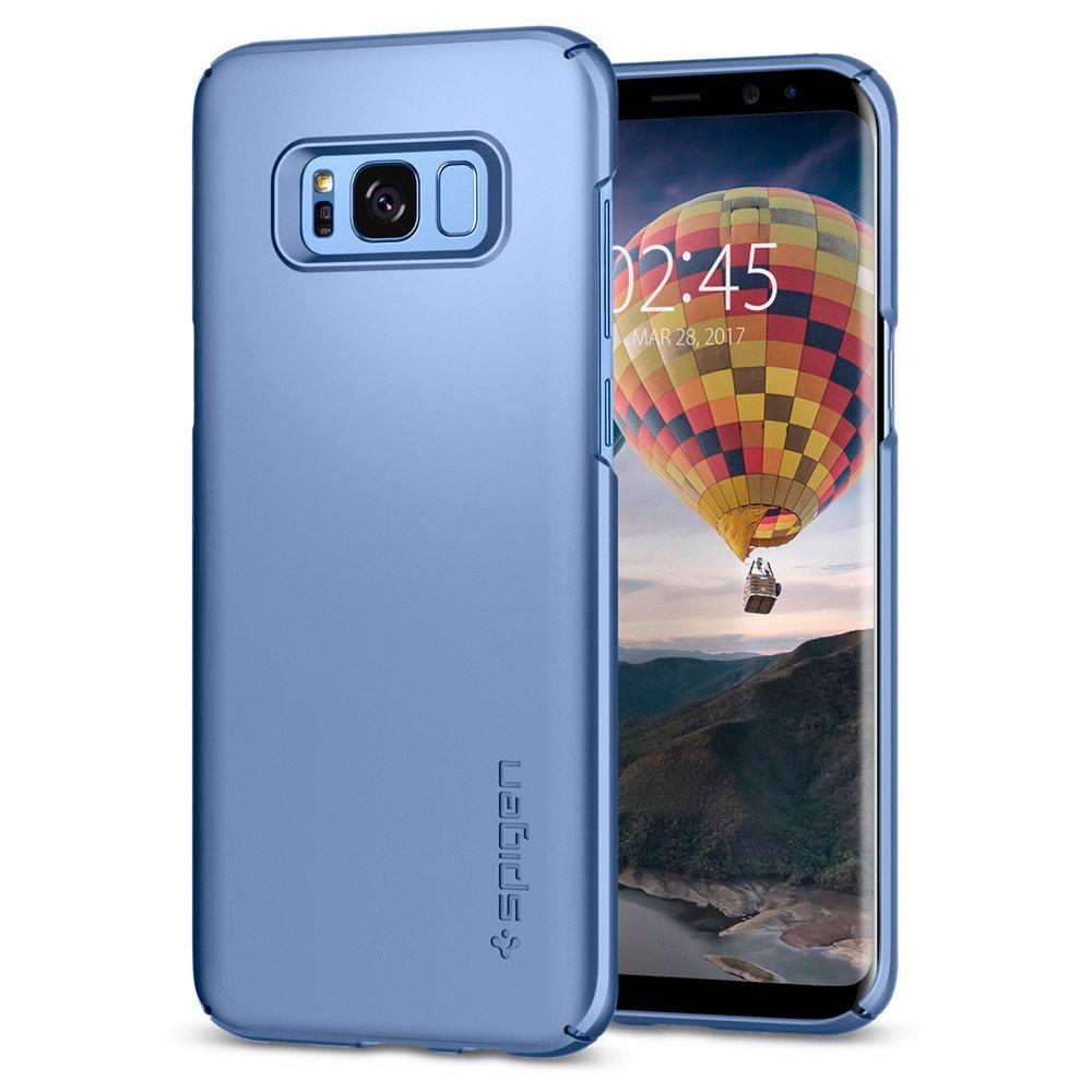 Купить Чехол Spigen Thin Fit Blue Coral для Samsung Galaxy S8 Plus