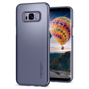 Купить Чехол Spigen Thin Fit Orchid Gray для Samsung Galaxy S8 Plus