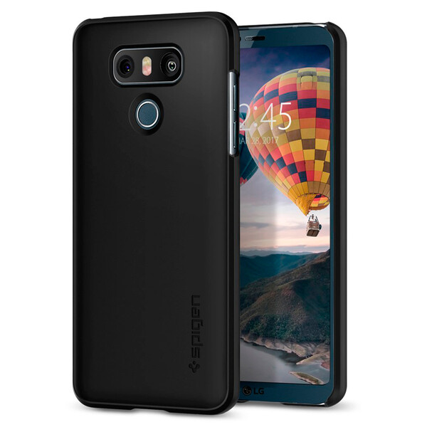 Чехол Spigen Thin Fit Black для LG G6