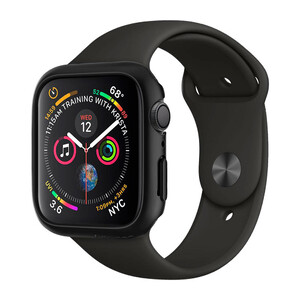 Купить Чехол Spigen Thin Fit Black для Apple Watch 40mm SE | 6 | 5 | 4