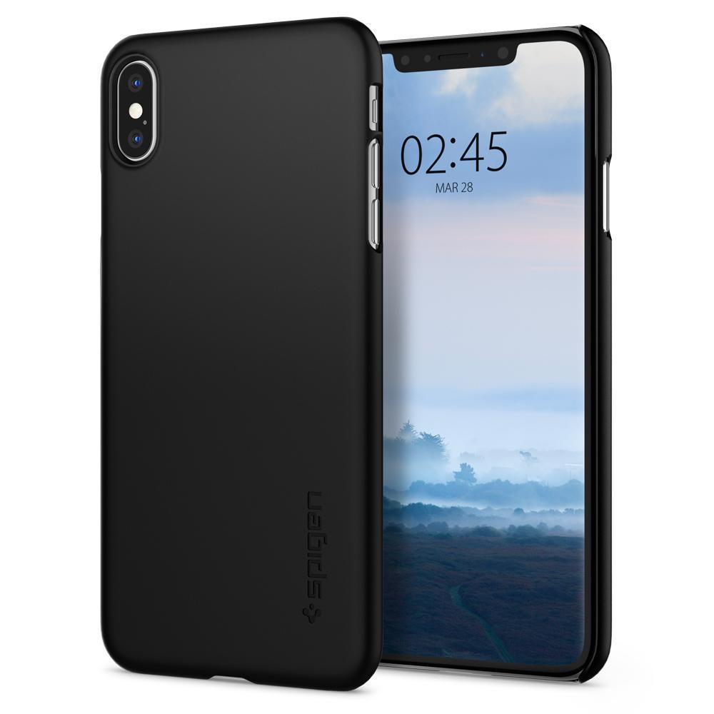 Купить Чехол Spigen Thin Fit Black для iPhone XS Max