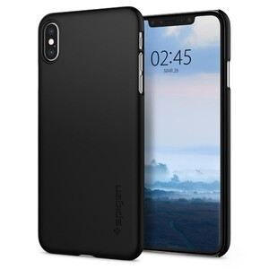 Купить Чехол Spigen Thin Fit Black для iPhone XS Max