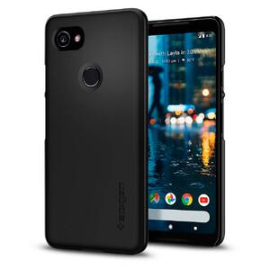 Купить Чехол Spigen Thin Fit Black для Google Pixel 2 XL