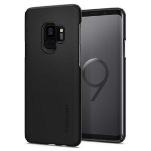 Купить Чехол Spigen Thin Fit Black для Samsung Galaxy S9