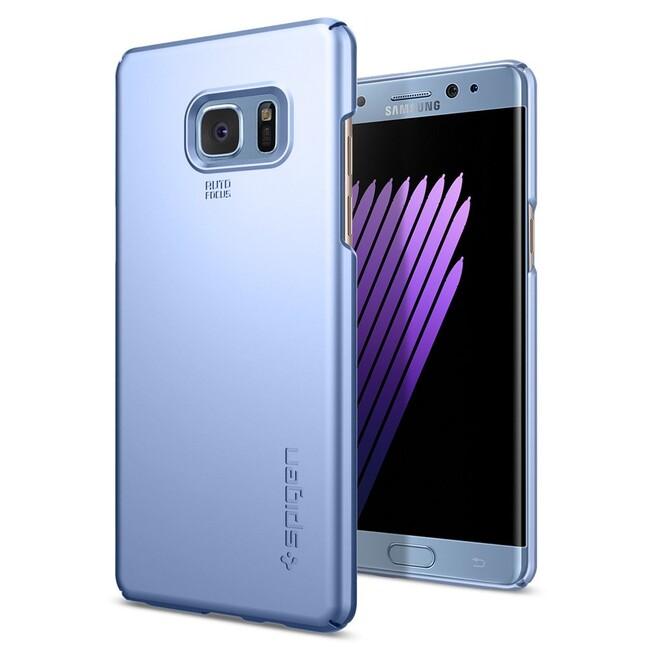 Чехол Spigen Thin Fit Blue Coral для Samsung Galaxy Note 7
