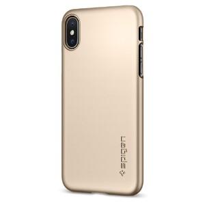 Купить Чехол Spigen Thin Fit Champagne Gold для iPhone X/XS