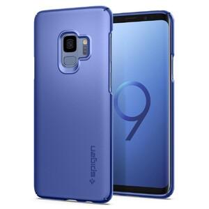 Купить Чехол Spigen Thin Fit Coral Blue для Samsung Galaxy S9
