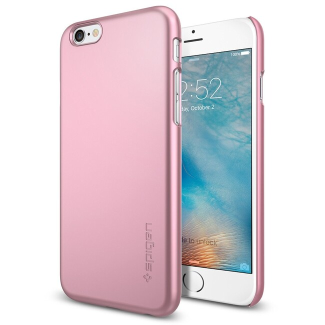 Чехол Spigen Thin Fit Metallic Rose для iPhone 6/6s