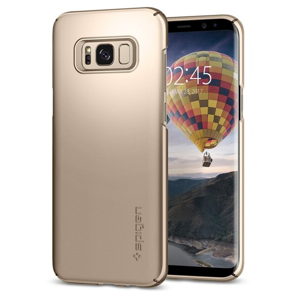 Чехол Spigen Thin Fit Gold Maple для Samsung Galaxy S8