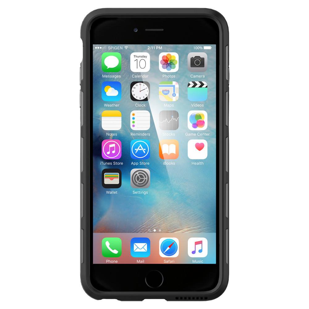competitive price 7c1ab 0d5a8 Чехол Spigen Thin Fit Hybrid Black для iPhone 6 Plus/6s Plus
