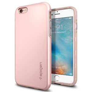 Купить Чехол Spigen Thin Fit Hybrid Rose Gold для iPhone 6/6s