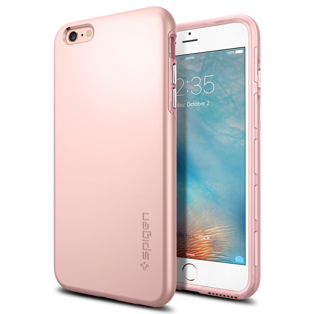 Чехол Spigen Thin Fit Hybrid Rose Gold для iPhone 6 Plus/6s Plus