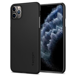 Купить Чехол Spigen Thin Fit Black для iPhone 11 Pro