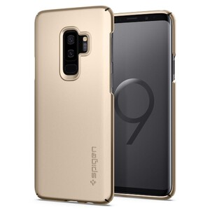 Купить Чехол Spigen Thin Fit Maple Gold для Samsung Galaxy S9 Plus