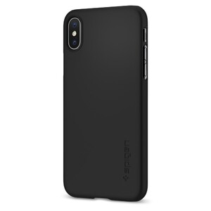 Купить Чехол Spigen Thin Fit Matte Black для iPhone X