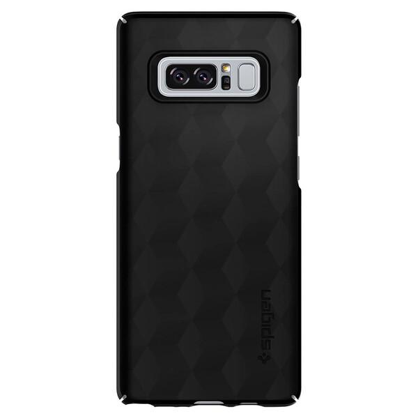 Чехол Spigen Thin Fit Matte Black для Samsung Galaxy Note 8