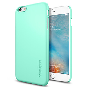 Купить Чехол Spigen Thin Fit Mint для iPhone 6/6s Plus