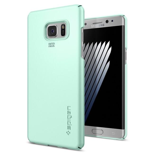 Чехол Spigen Thin Fit Mint для Samsung Galaxy Note 7