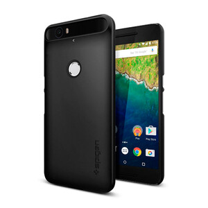Купить Чехол Spigen Thin Fit Black для Huawei Nexus 6P