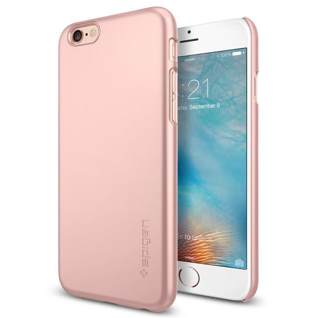 Чехол Spigen Thin Fit Rose Gold для iPhone 6/6s Plus