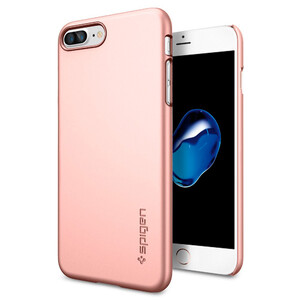 Купить Чехол Spigen Thin Fit Rose Gold для iPhone 7 Plus/8 Plus