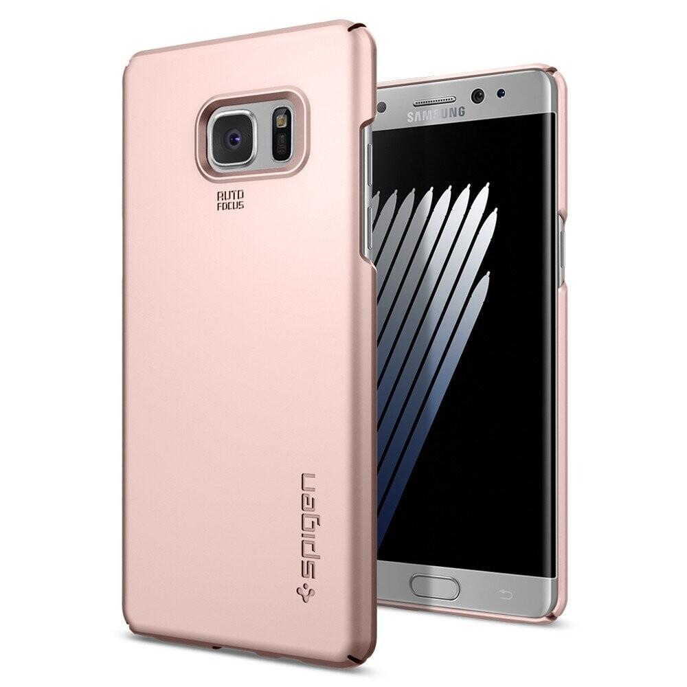 Чехол Spigen Thin Fit Rose Gold для Samsung Galaxy Note 7