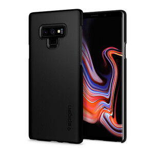 Купить Чехол Spigen Thin Fit Black для Samsung Galaxy Note 9