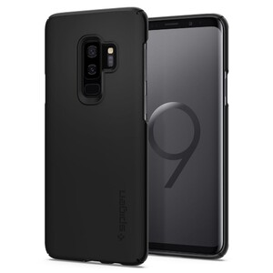 Купить Чехол Spigen Thin Fit Black для Samsung Galaxy S9 Plus