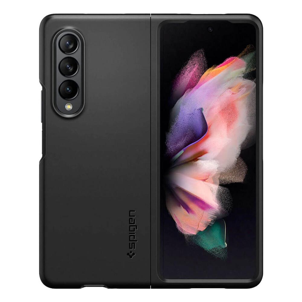 Черный защитный чехол Spigen Thin Fit для Samsung Galaxy Z Fold 3