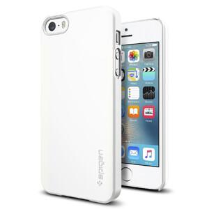 Купить Чехол Spigen Thin Fit Shimmery White для iPhone SE/5S/5