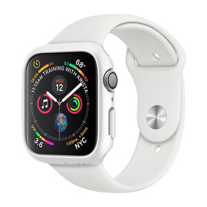 Купить Чехол Spigen Thin Fit White для Apple Watch 40mm Series 4