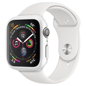 Купить Чехол Spigen Thin Fit White для Apple Watch 44mm Series 4