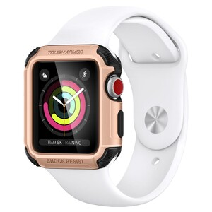 Купить Чехол Spigen Tough Armor 2 Blush Gold для Apple Watch 38mm Series 3/2
