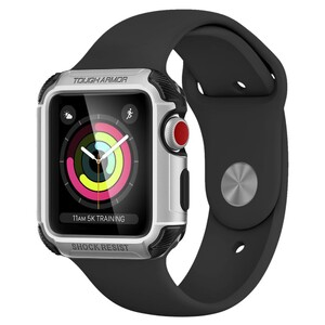 Купить Чехол Spigen Tough Armor 2 Silver для Apple Watch 38mm Series 3/2