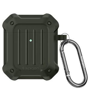 Купить Противоударный чехол Spigen Tough Armor Military Green для AirPods 1/2