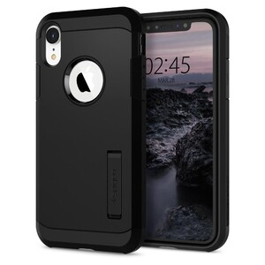 Купить Чехол Spigen Tough Armor Black для iPhone XR