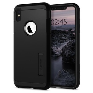 Купить Чехол Spigen Tough Armor Black для iPhone XS Max