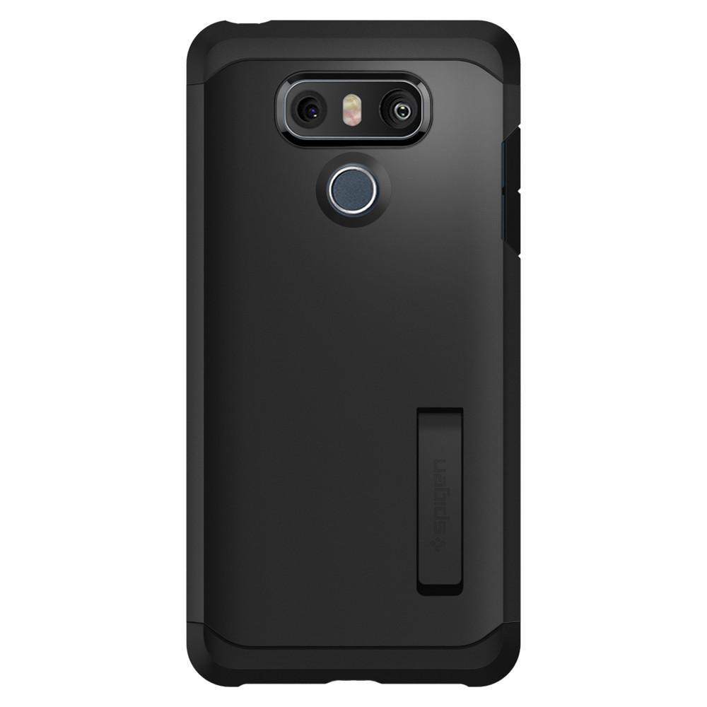 Купить Противоударный чехол Spigen Tough Armor Black для LG G6