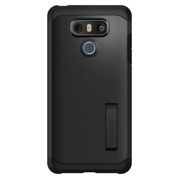 Противоударный чехол Spigen Tough Armor Black для LG G6