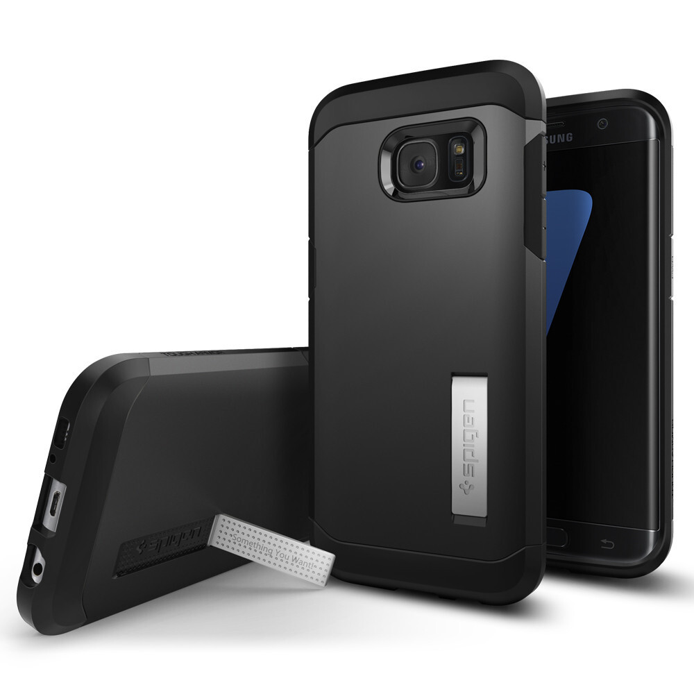 Чехол Spigen Tough Armor Black для Samsung Galaxy S7 edge