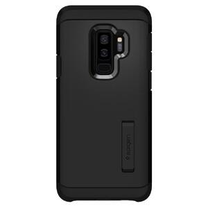 Купить Противоударный чехол Spigen Tough Armor Black для Samsung Galaxy S9 Plus