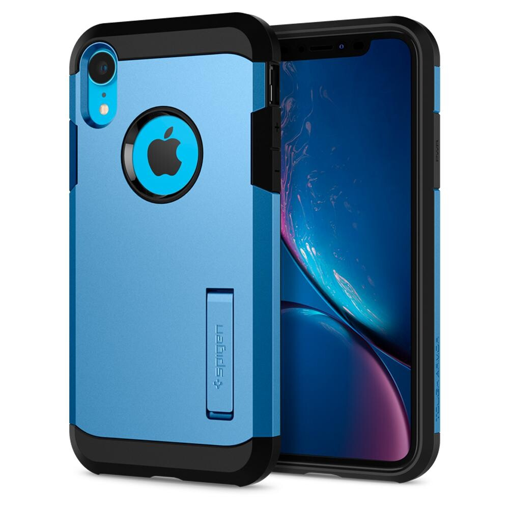 Чехол Spigen Tough Armor Blue для iPhone XR