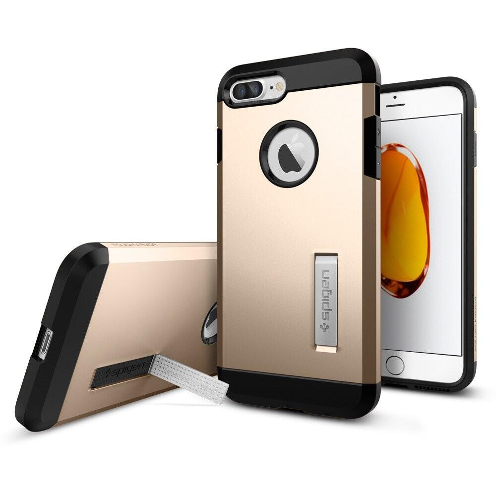 Чехол Spigen Tough Armor Champagne Gold для iPhone 7 Plus